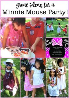 """We hosted this Minnie Mouse birthday party when my youngest daughter was turning 4, and her favorite TV show was """"Mickey Mouse Clubhouse"""". Here are some great ideas you can use for your own party!  #MinnieMouse #GirlsBirthday #BirthdayParties #GirlsBirthdayParty Birthday Party At Home, Birthday Party Games For Kids, Boy Party Favors, Birthday Activities, Kids Party Themes, Birthday Party Themes, Girl Birthday, Party Ideas, Birthday Ideas"""