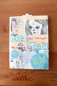 Mel Tak  Fine Art book compiled by Yoshitomo Nara by girliepains, $40.00