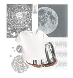 """""""Hunter of Artemis"""" by gymnastics-ariana ❤ liked on Polyvore featuring Toast, Polaroid, Clover Canyon and H&M"""