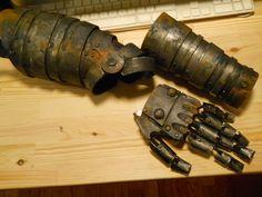Metalic armor DIY cosplay DIY