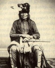 Struck By The Ree (Tribe: Yankton (Sioux) 1804-1888. Struck by the Ree, who would become a principal chief of the Yankton Sioux, was born in August 1804, the same week that Lewis and Clark passed through his village. It is said that Lewis swaddled the young man in a U.S. flag and baptized him as an American. During the 1862 Great Sioux Uprising in Minnesota, he positioned his warriors to protect innocent white settlers from raiding Indians.  http://www.aviozone.com/indian_chief_page_2.htm