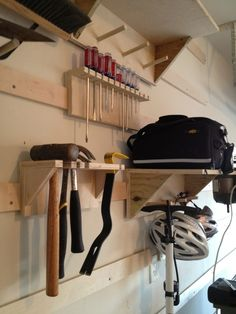 Garage shop upgrades #3: Hangars, shelves, and boxes! - by channeleaton @ LumberJocks.com ~ woodworking community