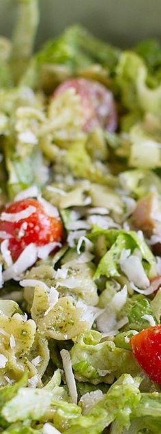 Pesto Pasta and Ham Salad - Taste and Tell