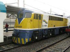 D-16005 diesel locomotive made by @GE and ALCo, and delivered to the Empresa de los Ferrocarriles del Estado de Chile (EFE) in 1954