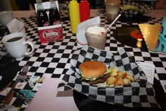 1950s Retro Diner Birthday Party Ideas | Photo 2 of 13 | Catch My Party