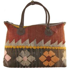 Kilim Boho Bag X by Rug & Relic Support this shop!!