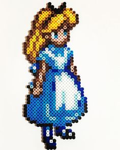 Alice perler beads by saonchan.m