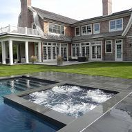 Award winning projects with Hot tubs and spas. Long Island Pool and Spa Associations (LIPSA) 2012 award winning projects
