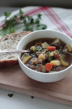 Perfectly Tender Beef Barley Stew - Live Simply