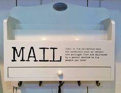Hylly posti/naulakko musta/valk 34cm 006122-13