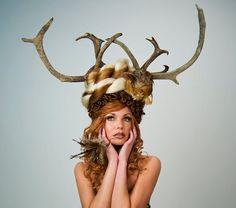 Woodland Angel Headdress