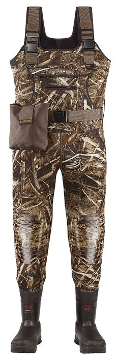 LaCrosse Swamp Tuff Pro Insulated Boot-Foot Chest Waders for Men - Realtree Max-5 #RealtreeMax-5