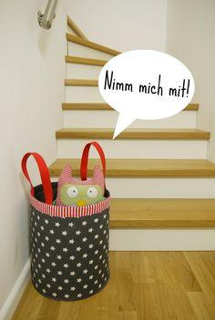 Stoffkorb, Spielzeugkorb Anleitung free