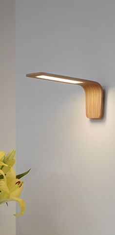 Wooden frame led light
