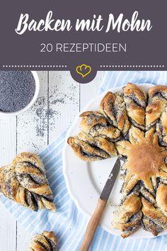 Ob in Hefeteig, im Kuchen oder Stollen - Mohn ist ein Allrounder und eignet sich ideal zum Backen! Unsere Foodblogger verraten uns ihre Lieblingsrezepte.