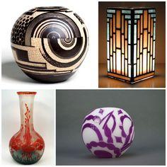 art deco | Inspiration} Art Deco Decor: Balancing Geometry and Romance