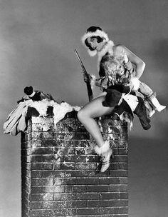 a Joan Crawford xmas