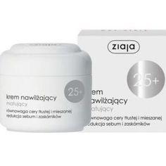 Moisturizing Cream Ziaja 25 mats SEBUM blackheads Face Care, Cosmetics, Cream, Facial Care, Beauty Products, Face Care Routine, Facial, Sour Cream, Spa Facial