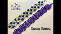 Beaded Bracelet DIY ( Square Stitch) 💞