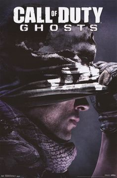 Call of Duty Ghosts Soldier Video Game Poster 22x34 – BananaRoad