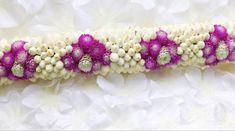 Making garland would be perfect with globe amaranth! Globe Amaranth, Garland, Etsy Seller, Beaded Bracelets, Make It Yourself, Create, Unique, How To Make, Jewelry