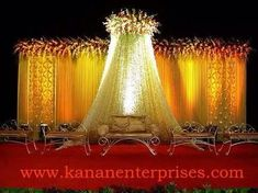 5 Insane Tips and Tricks: Backyard Canopy Wedding Ceremonies white canopy benches.Pop Up Canopy Shelters princess canopy fabrics. Indian Wedding Stage, Wedding Stage Backdrop, Wedding Canopy, Wedding Stage Decorations, Wedding Mandap, Backdrop Decorations, Flower Decorations, Indian Weddings, Wedding Ceremonies