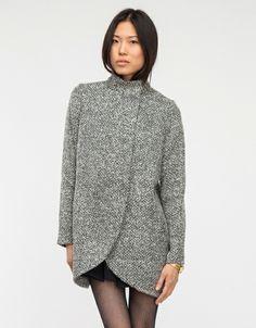 wishbone coat, minimal beauty