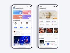 Campus app design designed by Light years. Connect with them on Dribbble; Ui Design Mobile, App Ui Design, Web Design, Android App Design, Android Apps, Android Tricks, Android Box, App Login, Mobile App Ui