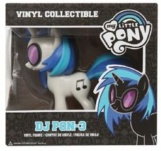 Amazon.com : Funko: My Little Pony - DJ PON-3 Vinyl Figure : Toys & Games