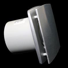 ventilátor Dalap BFA boční pohled - http://www.ventilatory.cz/ventilator-hlinikovy-s-casovym-spinacem-a-cidlem-vlhkosti-_ventilator_-470.html
