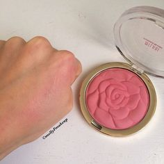 Milani Powder Blush in Tea Rose. Follow my instagram @mellyfmakeup for more!