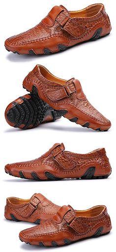 Men's Octopus Comfortable Driving Car Soft Flats Loafers Driving Loafers, Driving Shoes, Leather Loafers, Loafers Men, Men's Leather, Hot Shoes, Men's Shoes, Gentleman Shoes, Mens Winter Boots