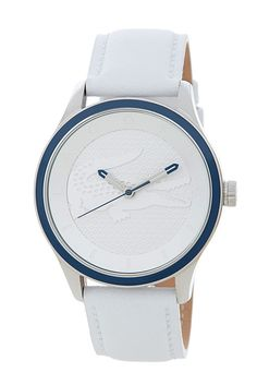 Lacoste Women's Victoria Leather Strap Watch Dream Watches, Cool Watches, Luxury Watches, Hand Watch, Women's Earrings, Fashion Watches, Jewelry Gifts, Lacoste Shoes Women, Lacoste Bag