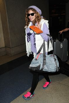 251a55e06b AnnaLynne McCord carrying the Under Armour Shatter Duffel