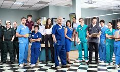 A who's who of Holby City hospital, with all you need to know about the characters and the stars who play them Casualty Cast, Holby City, Bbc Drama, Drama Drama, City Hospital, Medical Drama, Bbc One, Street Dance, 30th Anniversary