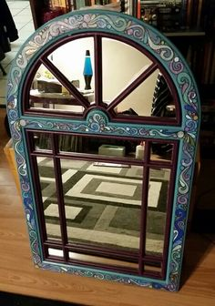 Wood Mirror, Peacock, Diy Home Decor, My Arts, Colours, Facebook, Paper, Beautiful, Diy Ideas For Home