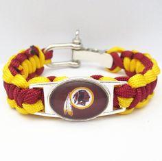 NFL Washington Redskins Football Team Bracelet