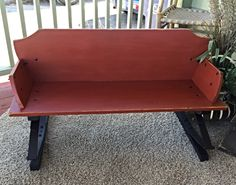 Vintage Wagon Buckboard Seat Authentic Western