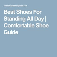 Retail Pharmacist Best Shoes