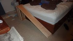 how to build a dog ramp for bed