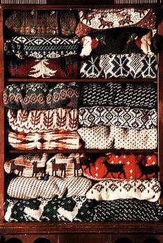 Sweaters. To je jasný vánoční dárek :-).