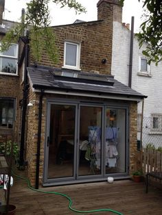 Small Terraced House Front Garden Ideas: Lean To Victorian Terrace Extension