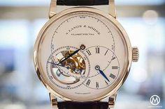 A. Lange & Sohne Richard Lange Tourbillon Pour le Merite - white-gold. Now at watchtime.com #langesohne #tourbillon #watchnerd