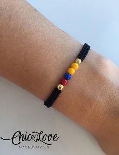 Jewelery, Jewelry Bracelets, Beach Feet, Jewelry Making Supplies, Beads, Etsy, Crafts, Diy Kid Jewelry, Black Bracelets