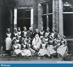 Florence Nightingale and her nurses