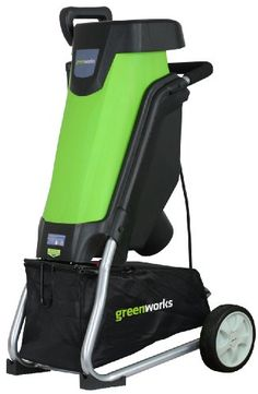 Black Friday 2014 GreenWorks 24052 15 Amp Corded Shredder/Chipper from Greenworks Cyber Monday