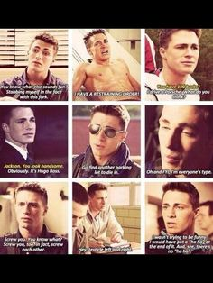 Colton Haynes as Jackson on teen wolf