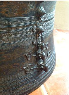 Bronze Asian Rain Drums More Drums Art Furniture And Exterior Design Ideas