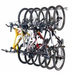Awesome Bike Storage from Monkey Bar Storage via A Bowl Full of Lemons Blog Giveaway