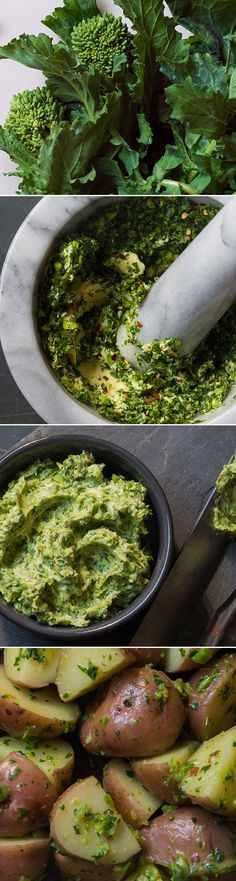 Broccoli Rabe Butter Recipe...for a myriad of uses!